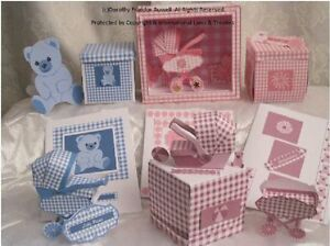 """Card Crafting Templates,""""Carrie"""" Baby's Car Seat with presentation box, etc. CD"""