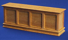 Dolls House 12th Scale Panelled Shop Counter PINE NB388