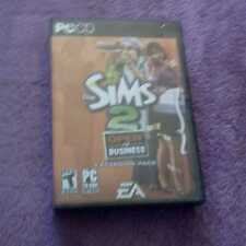 The Sims 2: Open for Business  EXPANSION PACK PC CD ROM BOOK KEY COMPLETE