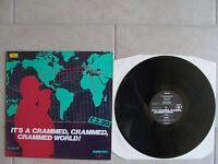 "Compilation ""IT'S A CRAMMED CRAMMED WORLD!"" LP Belgium crammed discs 1984"