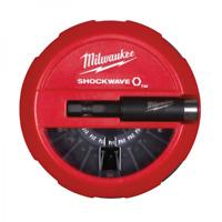 MILWAUKEE | SHOCKWAVE 15 Punte Magnetiche per Avvitatore + 1 Bit Magnetico 60mm