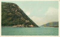 WB Postcard NY I192 Anthonys Nose Hudson River Boats Phostint Detroit Publishing
