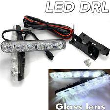 6 LED DRL Bumper Driving Lamp daytime running flow turn signal White 6K V WP 911