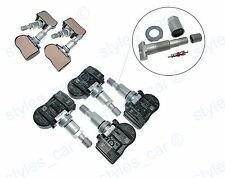 4x Jaguar XF XE XJ XK  X-Type F-Type  Tyre Pressure Sensor 433MHz FW93-1A159-AB