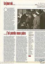 Coupure de presse Clipping 2002 Michel Sardou   (1 page)