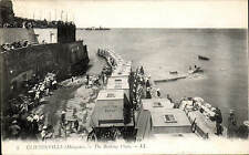 Cliftonville (Margate). The Bathing Place # 5 by LL / Levy. Black & White.