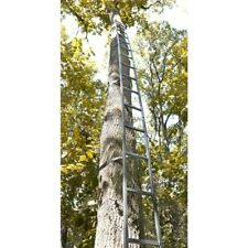 Tree Ladder 20' Hunting Deer Hunt Game Sturdy Steel Construction Holds 300 lbs.