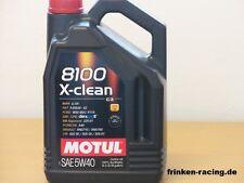 7,96 €/L MOTUL 8100 X-clean 5w-40 5 L. c3 vollsynth OLIO MOTORE