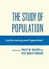 The study of population: an inventory and appraisal-ExLibrary