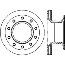 Disc Brake Rotor-Premium Disc-Preferred Rear Centric 120.80015