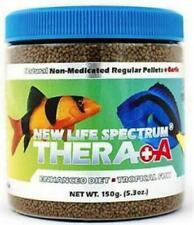 New Life Spectrum TheraA+ Enhanced TROPICAL Fish Food Pellets 5.3 oz NEW/ SEALED