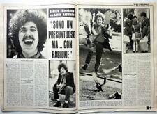 *LUCIO BATTISTI => Ritaglio 2 pagine 1970  // ITALIAN CLIPPING