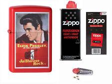Zippo Elvis Jailhouse Rock + Starter Pack mit Benzin,Docht,Feuersteine 2004223