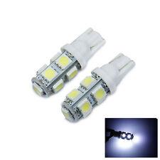 2 x Xenon White Reverse Backup 360° LED Light Bulbs 9-SMD 921 912 T10