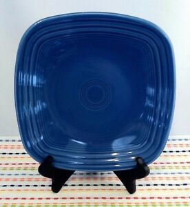 Fiestaware Lapis Square Lunch Plate Fiesta Blue Luncheon Plate