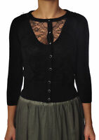 Liu-Jo - Knitwear-Cardigan - Woman - Black - 3111103E191246