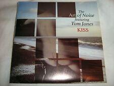 "THE ART OF NOISE/TOM JONES Kiss(Prince cover)/EFL 7""single VINYL 45 record NM/EX"