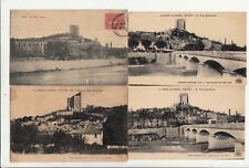 Lot 4 cartes postales anciennes DRÔME CREST 3