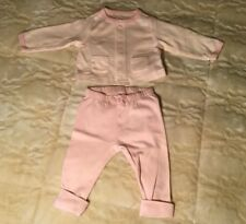 Old Navy Little Bundles Baby Girl Pink 2 Piece Suit SZ 0-3 Months