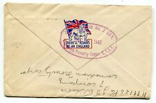 Canada WWII Forces Overseas 1942 Canadian Forestry Corps - Patriotic Flap Cover