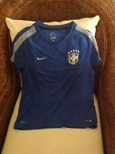 Brasil CBF Football/Soccer Nike dri- fit futbol training Jersey size XL Youth