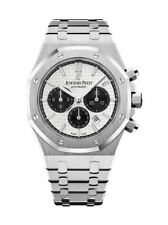Audemars Piguet Royal Oak Chronograph (26331ST.OO.1220ST.03) Men's Stainless Steel Wristwatch with Silver Dial