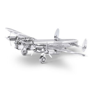Classics Lancaster Bomber Metal Earth 3D Laser Cut Metal Puzzle by Fascinations