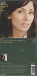 Natalie Imbruglia Counting Down The Days Cd Single Card Sleeve Neuf New Neu