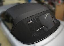 MAZDA MX-5 Spar-Verdeck Dach Faltdach PVC Scheibe einteilig schwarz TOPQUALITÄT