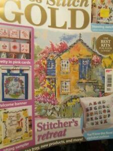 Cross Stitch Gold UK Magazine November 2013-Teddy Teatime/Mill House/Welcome Ban