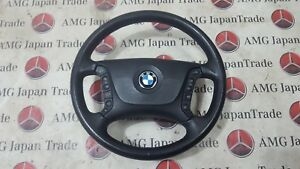 BMW 525i E39 STEERING WHEEL ORIGINAL WITH AIRBAG