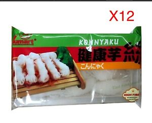 12 Packs X SHIRATAKI KONNYAKU TARO MAGIC NOODLE 200g - Low Carb, High Fiber