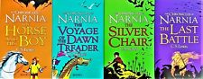 The Chronicles of Narnia Collection C.S.Lewis 4 Books,The Last Battle,BK 3,5,6,7