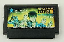 Double Dragon III 3 NES Technos Nintendo Famicom From Japan