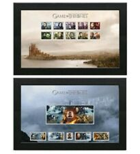 Game Of Thrones Great Britain Royal Mail 2018 Framed Stamps Pk091 Essos Bundle