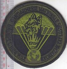 K-9 Police France Nationale EPIGN Section Canine Para Gendarmerie acu Vel hooks