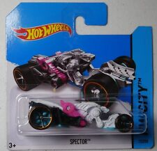 Hot Wheels 2014 #072/250 SPECTOR white HW CITY Batch F S/C