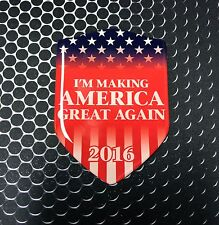 """Make America Great Again TRUMP After Election Decal Car Sticker 3D 2.3x 3.3"""""""