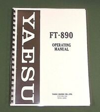 Yaesu Ft-890 Instruction Manual - Premium Card Stock Covers & 32 Lb Paper!
