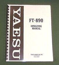 Yaesu FT-890 Instruction Manual - Premium Card Stock Covers & 32 LB Paper!