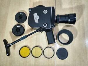 KRASNOGORSK-3 16mm Super16 option Movie Cine Camera Meteor-5-1 17-69mm f1.9 zoom