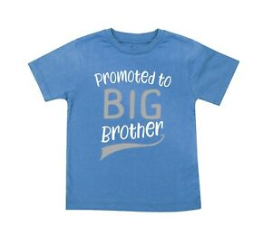Promoted to Big Brother T-shirt Gender Reveal Sibling Announcement T Shirt Tee
