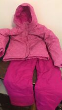 Girls Columbia Ski Outfit Pants And Jacket Hot Pink