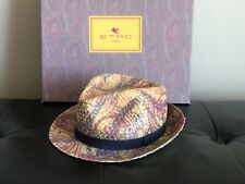 One Of A Kind , Rare , Straw Hat By Etro , Size M
