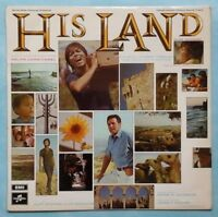 CLIFF RICHARD ~ HIS LAND (SOUNDTRACK) ~ 1969 UK 11-TRACK STEREO VINYL LP RECORD