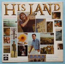 CLIFF RICHARD ~ HIS LAND (SOUNDTRACK) ~ 1969 UK 11-TRACK STEREO VINYL LP RECORD