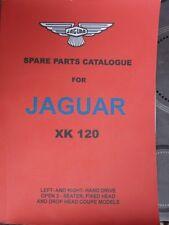 rare catalogue pieces détachées jaguar xk 120