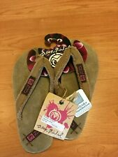 Ocean Minded Girls Brown Sandals by Crocs Size 4 - NEW