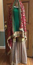 BN Designer Salwar Kameez Sharara Gharara Lehnga Saree Indian Dress Kurta Medium