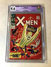 X-MEN #28 CGC tough to get 9.4 NM slight KEY ISSUE 1ST BANSHEE 1967 Iceman BEAST